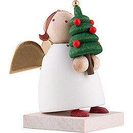 Guardian Angel with Little Christmas Tree - 3,5 cm / 1.3 inch