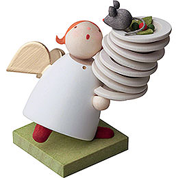Guardian Angel with Plates - 3,5 cm / 1.3 inch