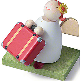 Guardian Angel with Suitcase - 3,5 cm / 1.4 inch