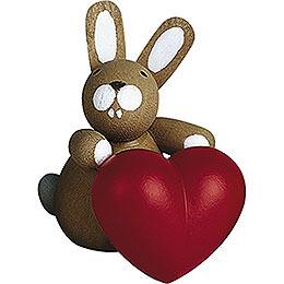 Häschen mit Herz - 3 cm