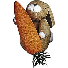 Häschen mit Möhre - 3 cm