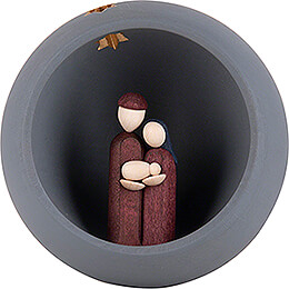 Hand Nativity - grey - 9 cm / 3.5 inch
