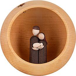 Hand Nativity - natural - 9 cm / 3.5 inch