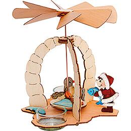 Handicraft Set - 1-Tier Pyramid - Penguins - 18 cm / 7.1 inch