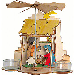 Handicraft Set - 1-Tier Wall Pyramid - Nativity - 18 cm / 7.1 inch