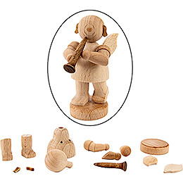 Handicraft Set - Angel with Clarinet - 6 cm / 2.4 inch