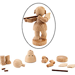 Handicraft Set - Angel with Flute - 6 cm / 2.4 inch