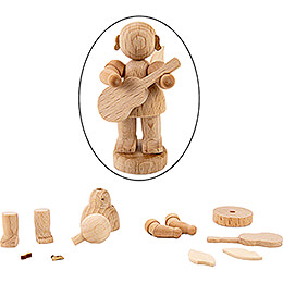 Handicraft Set - Angel with Guitar - 6 cm / 2.4 inch