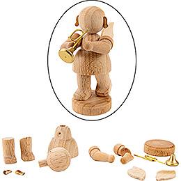 Handicraft Set - Angel with Trumpet - 6 cm / 2.4 inch