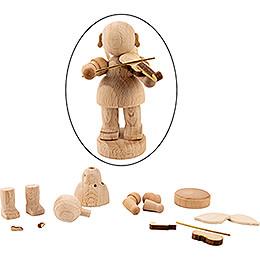 Handicraft Set - Angel with Violin - 6 cm / 2.4 inch