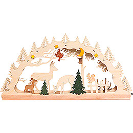 Handicraft Set - Candle Arch - Forest - 55x27 cm / 21.7x10.6 inch