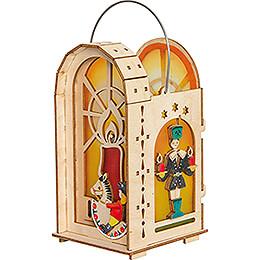 Handicraft Set - Lantern - Ore Mountains - 18 cm / 7.1 inch