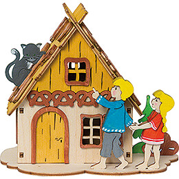 Handicraft Set - Money Box - Hansel & Gretel - 12 cm / 4.7 inch