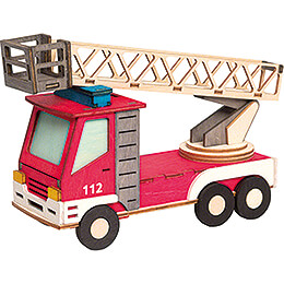 Handicraft Set - Smoker - Fire Engine - 15 cm / 5.9 inch