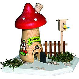 Handicraft Set - Smoker - Mushroom - 12 cm / 4.7 inch