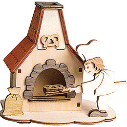 Handicraft Set - Smoking Oven - 12 cm / 4.7 inch