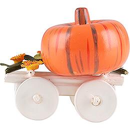 Harvest Cart with Pumpkin - 2,4 cm / 0.9 inch