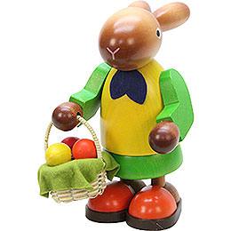 Hasenfrau mit Eierkorb - 16,5 cm