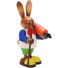 Hasenmann mit Karotte - 23 cm