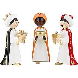 Heilige 3 Könige farbig - 7 cm