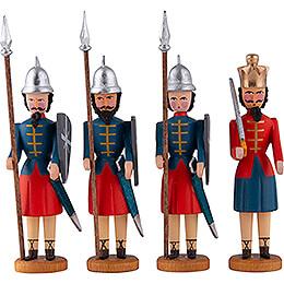 Herodes und drei Kriegsknechte - 10 cm
