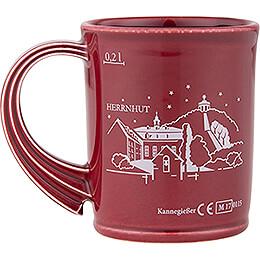 Herrnhuter Christmas Mug with Town Skyline