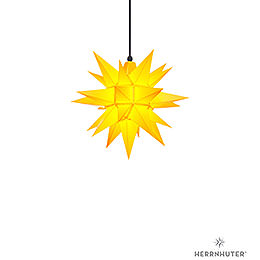Herrnhuter Moravian Star A4 Yellow Plastic - 40cm/16 inch