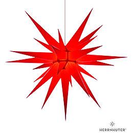 Herrnhuter Moravian Star I8 Red Paper - 80cm/31 inch