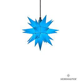 Herrnhuter Stern A4 blau Kunststoff - 40 cm