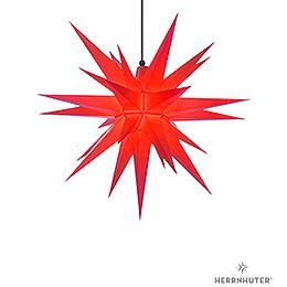 Herrnhuter Stern A7 rot Kunststoff - 68 cm