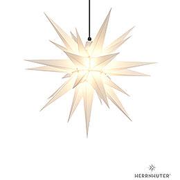 Herrnhuter Stern A7 weiss Kunststoff - 68 cm