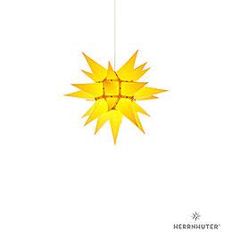 Herrnhuter Stern I4 gelb Papier - 40 cm