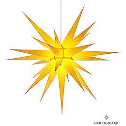 Herrnhuter Stern I8 gelb Papier - 80 cm