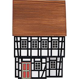 Hintergrundhaus Bürgerhaus mit Fachwerk im EG - 16 cm