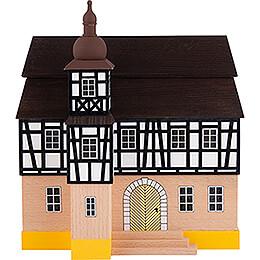 Hintergrundhaus Rathaus mit Fachwerkturm - 16 cm