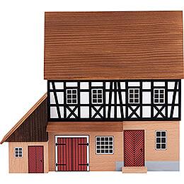 Hintergrundhaus Schmiede mit Anbau - 16 cm