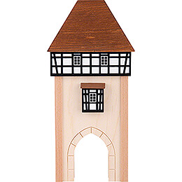 Hintergrundhaus Stadttor - 16 cm