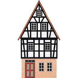 Hintergrundhaus Wohnhaus Giebelhaus mit Fachwerkgiebel - 16 cm