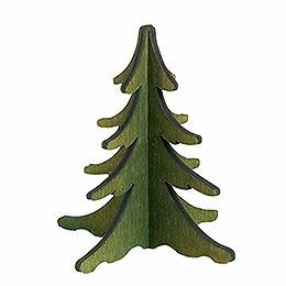 Holz-Steckbaum grün - 8 cm