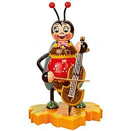 Hummel mit Cello - 8 cm