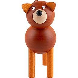 Hund Billi braun - 9 cm