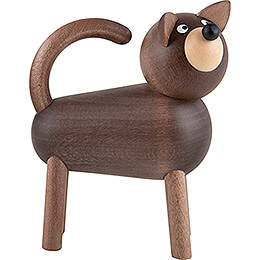 Hund Willi grau - 9 cm