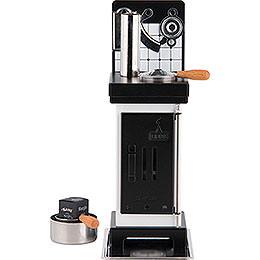 Incense Cones- and Scented Oil Stove White/Black - 19 cm / 7.5 inch