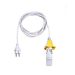 Innenkabel für Stern 29-00-A4 und 29-00-A7, 5 m weiß, LED, Deckel gelb