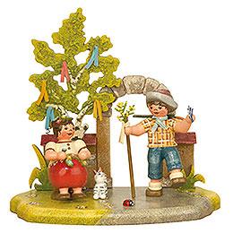 Jahreszeit - Frühling - 13x12 cm