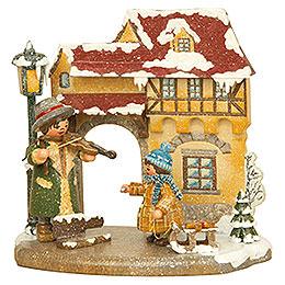 Jahreszeit - Winter - 13x12 cm
