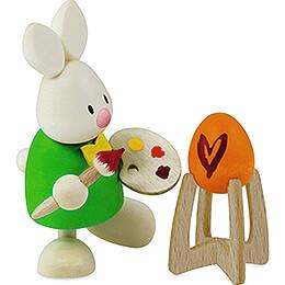 Kaninchen Max als Maler - 9 cm