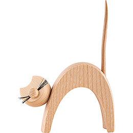 Katze natur - stehend  - 13 cm