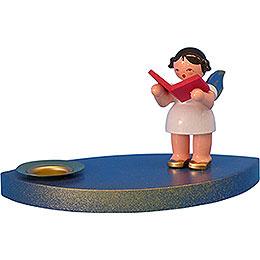 Kerzenhalter Engel mit Buch - 7 cm