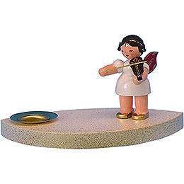 Kerzenhalter Engel mit Geige - 7 cm